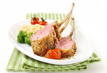 Carré d'agneau à la provençale Image