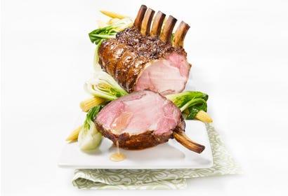 Carré de porc laqué au miel et au soya Image