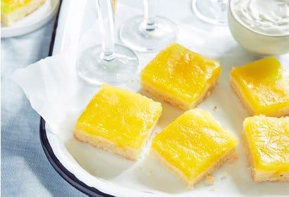 Carrés au citron et au limoncello Image