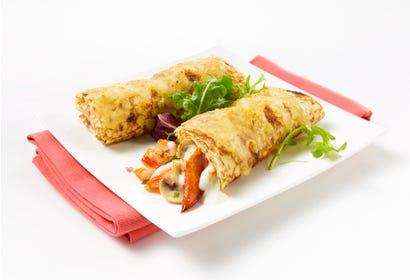Crepes with lobster Image