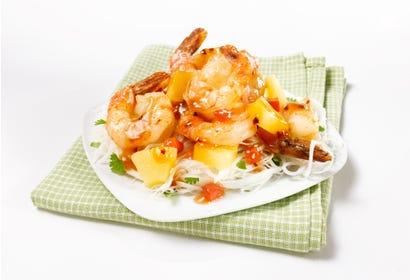 Crevettes en sauce aigre-douce Image