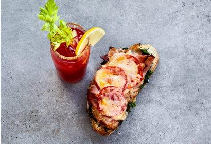 Croque-monsieur jambon-fromage
