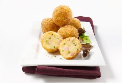 Croquettes de jambon et pommes de terre