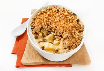 Apple crumble Image