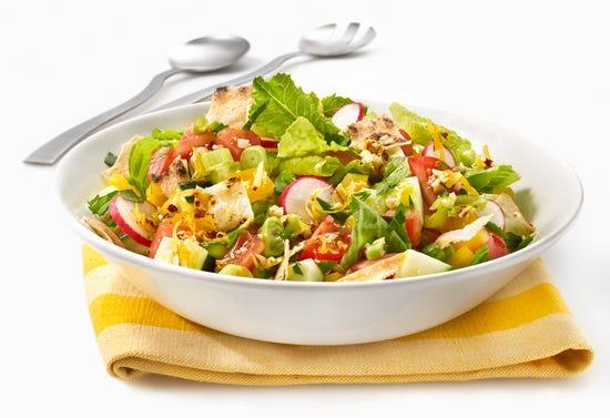 Fattoush (Lebanese salad)