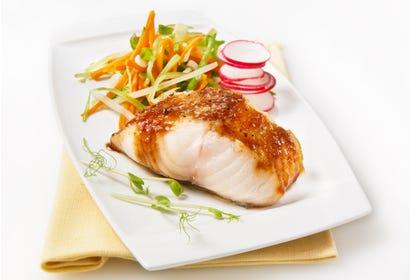 Black cod fillet with miso Image