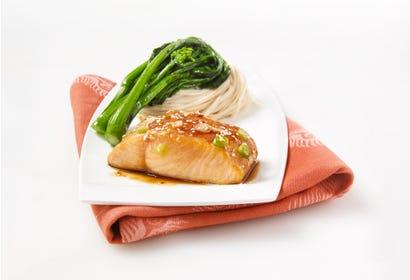Filet de saumon teriyaki Image