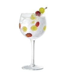 Gin Tonic with grapes Image