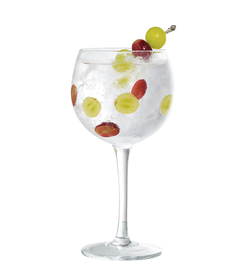 Gin Tonic with grapes