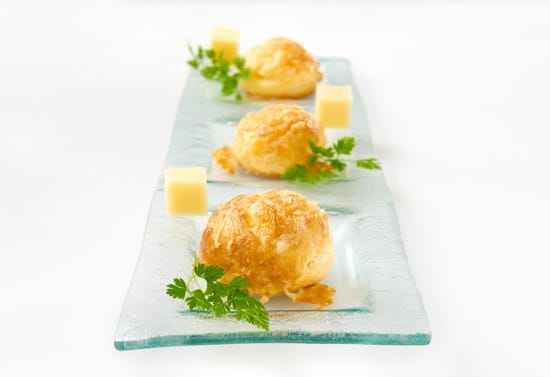 Cheese gougères