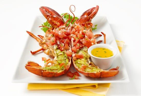 Grilled lobster à l'italienne