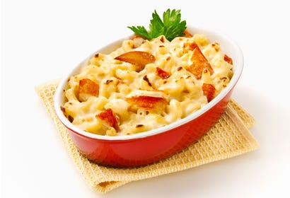 Macaroni au fromage et au homard Image