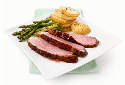 Duck breasts with beer and maple syrup Image