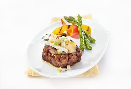 Wapiti medallions with brie