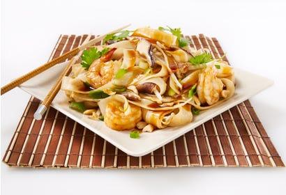 Pad thaï aux crevettes Image
