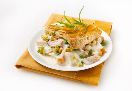 Turkey or chicken pot pie