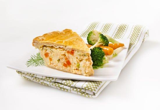 Pâté au saumon et aux pommes de terre