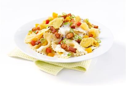 Pâtes crémeuses au coeur d'artichaut et parmesan Image
