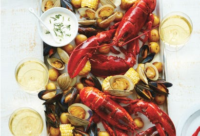 All-in-one seafood platter Image