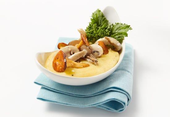 Creamy polenta with Parmesan