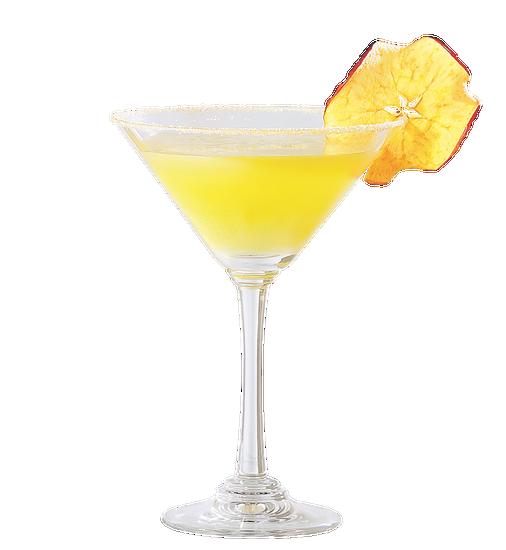Enchanting apple martini