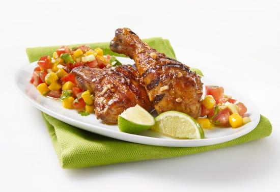 Jamaican marinated chicken (Jerk)