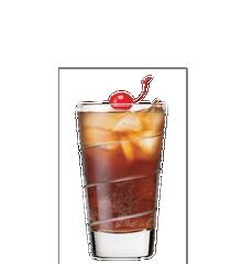 Rhum-pêche & cola Image