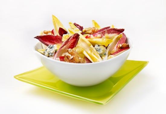 Salade d'endives au fromage bleu