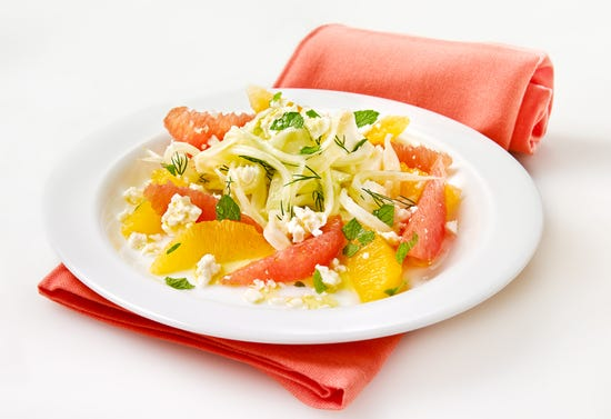 Fennel salad with citrus and feta