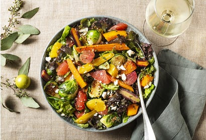 Roasted vegetable salad Image