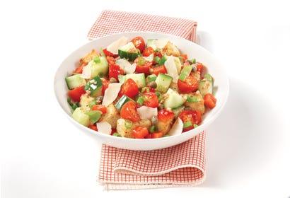 Salade panzanella Image