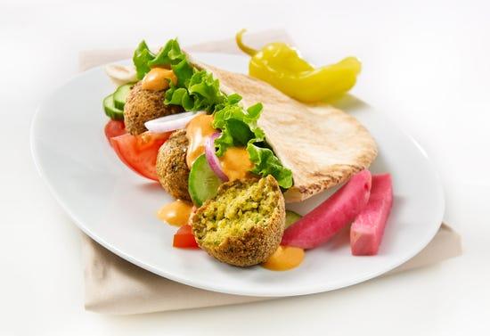 Falafel sandwiches