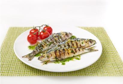Sardines grillées Image