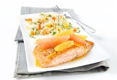Saumon sauce aux agrumes Image