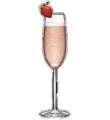 Baiser à la fraise Image
