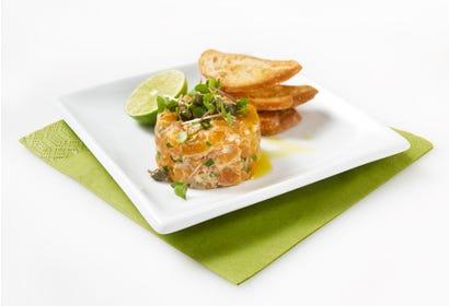 Tartare de saumon Image