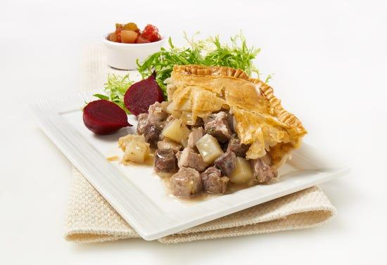 Tourtière (meat pie) from Lac Saint-Jean