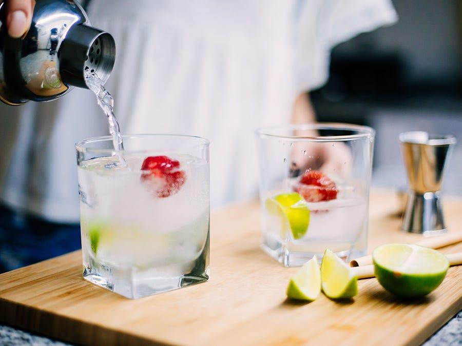Cocktails populaires de l'été