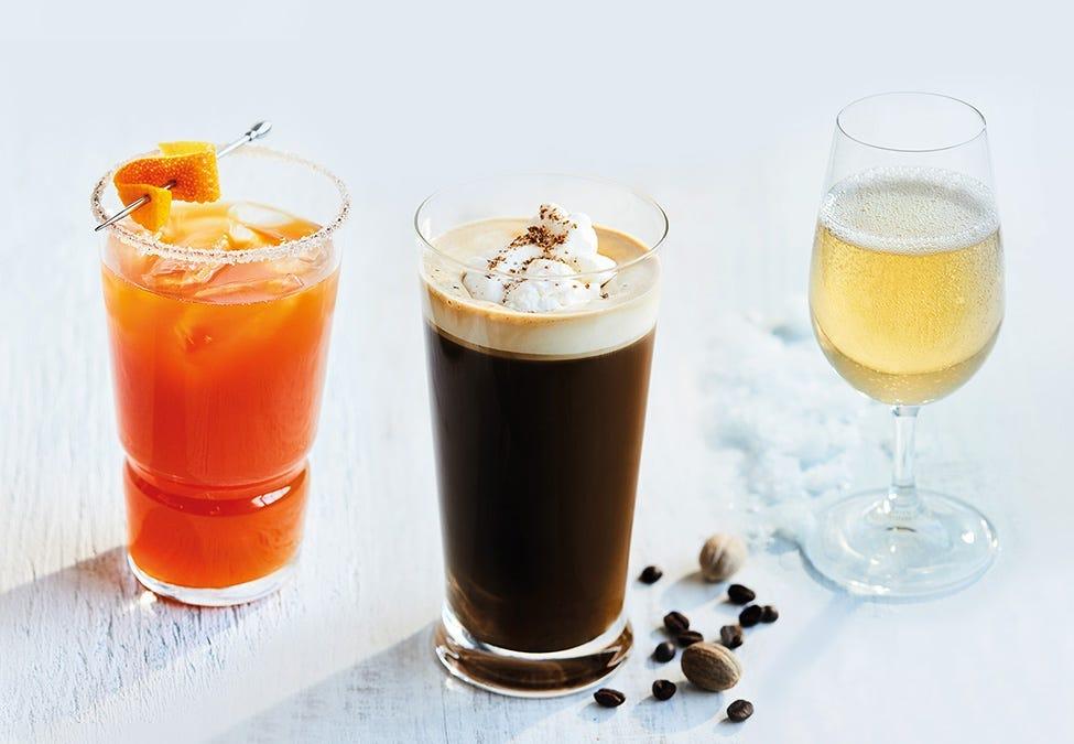 trois savoureux cocktails d'hiver