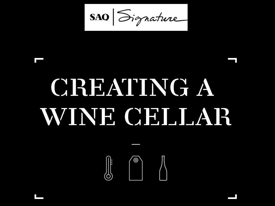 Creating a wine cellar