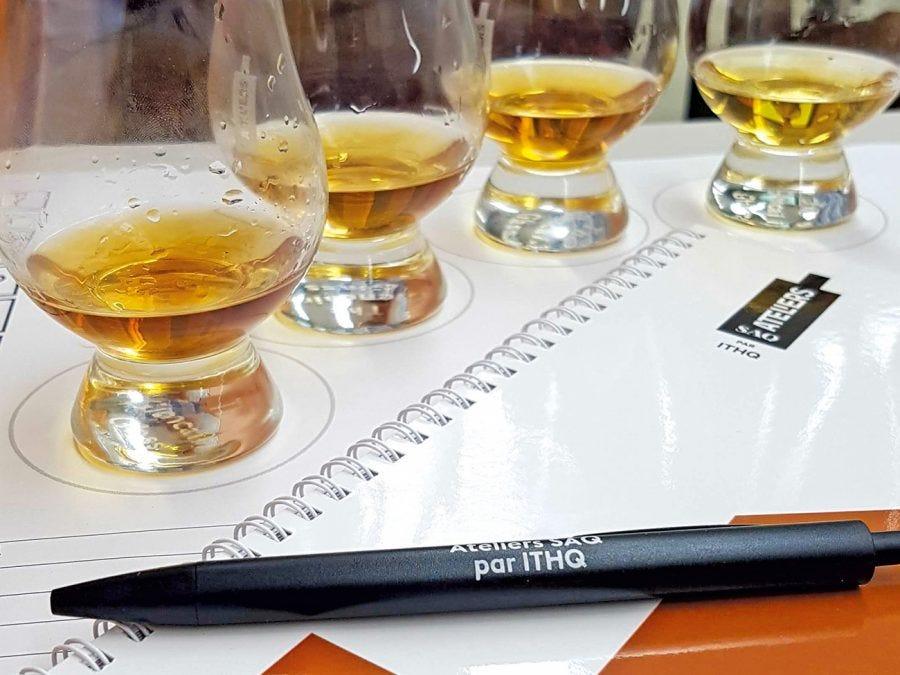Des verres de whisky
