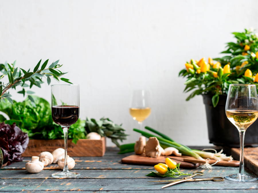 Vins bios et vins oranges