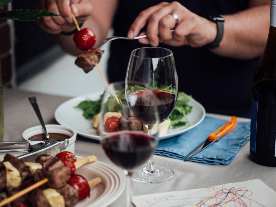fête des pères, vin rouge, accord, bbq