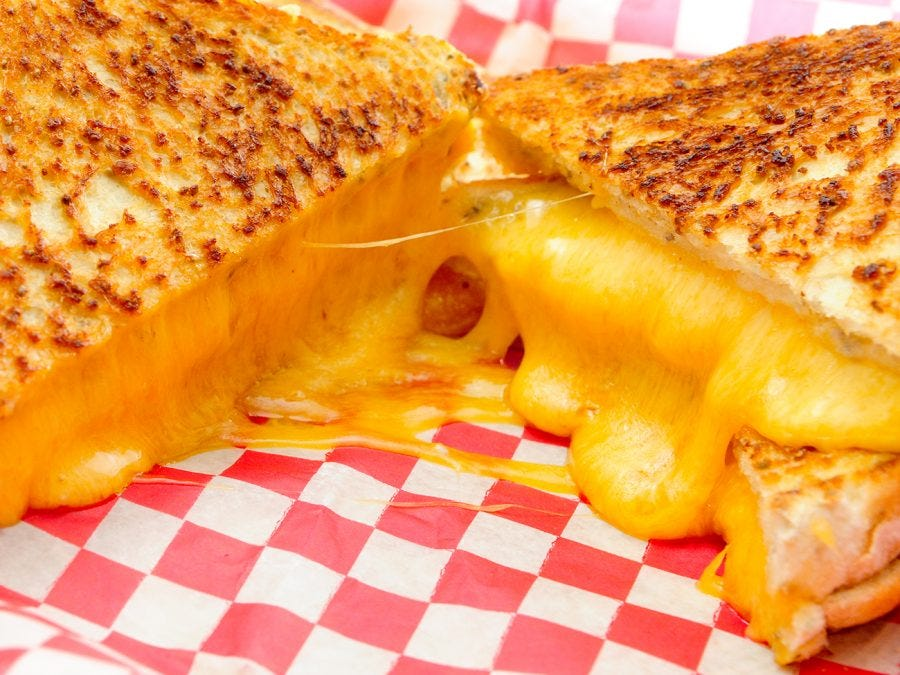 Grilled-cheese sur le BBQ