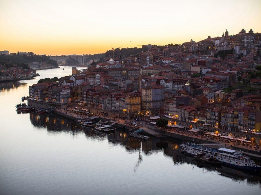 Paysage de la région vinicole du Douro
