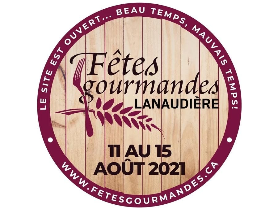 The SAQ is proud to be a partner of the 16th edition of the Les Fêtes Gourmandes de Lanaudière inc. which will take place from August 13 to 15, 2021.