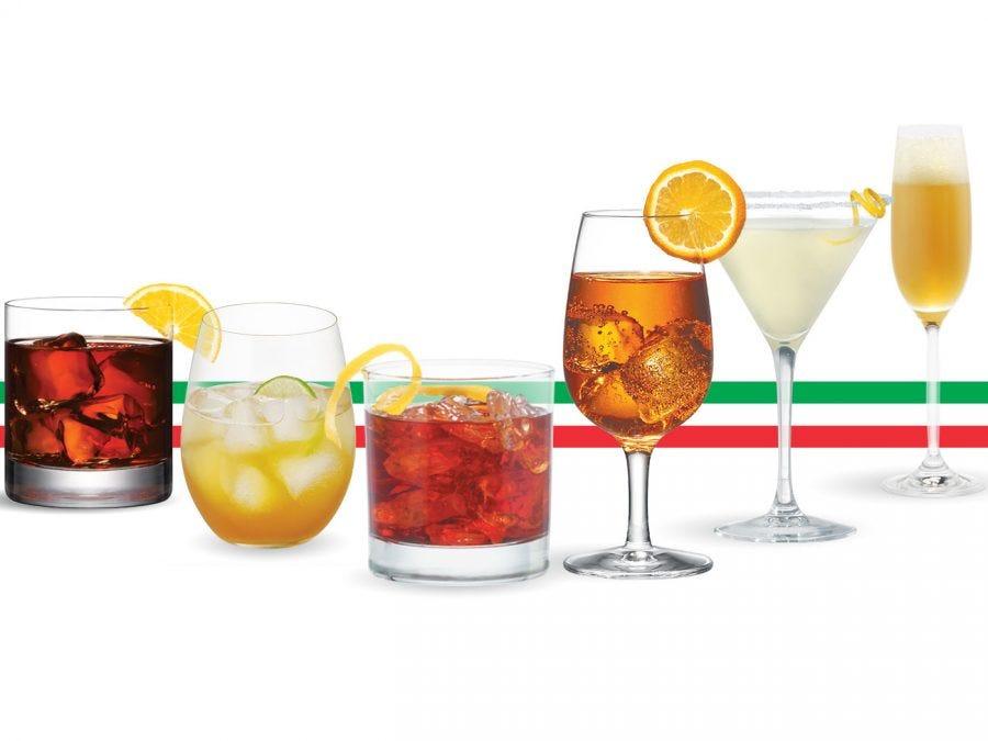 6 cocktails pour un apéro à l'italienne.