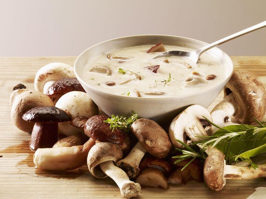 Soupe au champignons