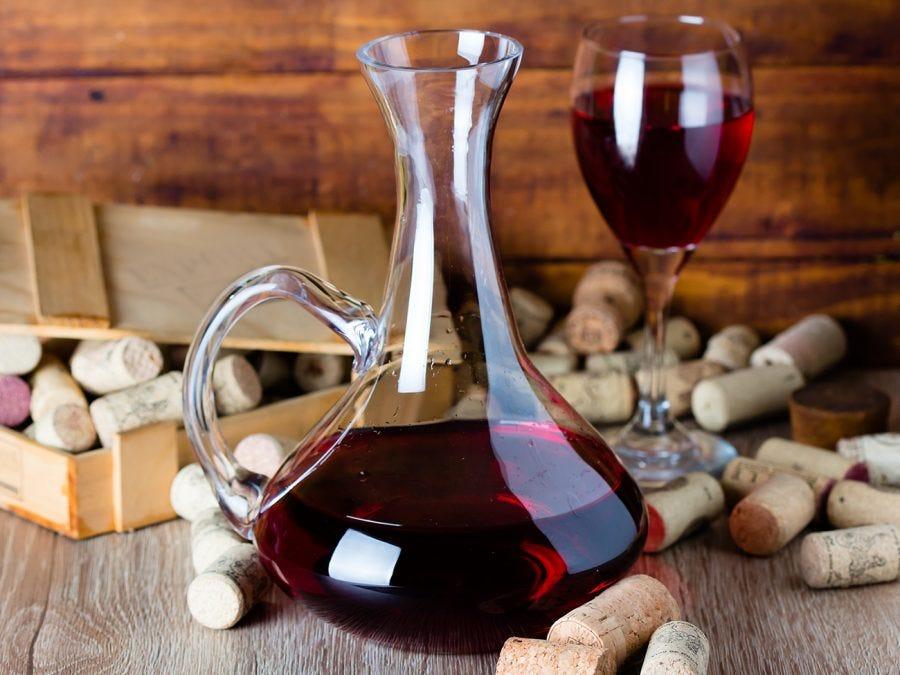 Caraffe de vin