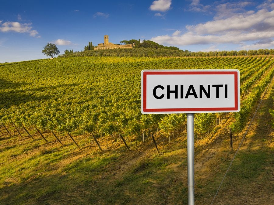 Vignoble en Italie